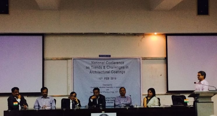 Panel discussion on 'Trends and challenges in architectural coatings' at ICT, Mumbai